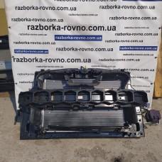 Кассета радиаторов установочная панель телевизор Fiat 500E 2020 в сборе