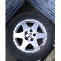 Диск титановый R15 Opel 5x112 6Jx15 ET43