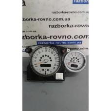 Панель приборов Mini Cooper Мини Купер 2001-06 6211-6918720 AR0039-002 / 6211-6918725 AR0041-005