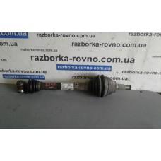 Полуось передняя левая Citroen Ситроен C4 2011 9656135280