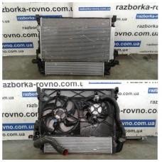 Кассета радиаторов Renault Trafic, Fiat Talento, Opel Vivaro 2014-2019 1.6DCI